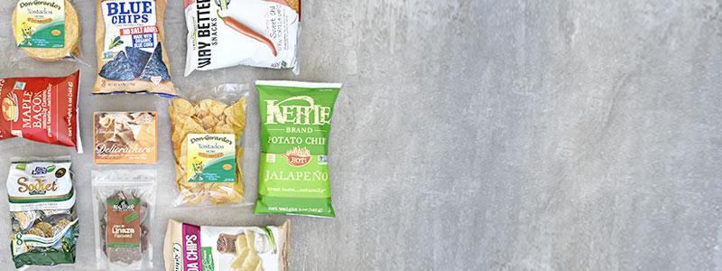 Galletas, chips & tortillas